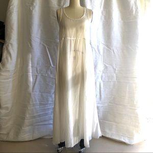 CP Shades white maxi dress, S